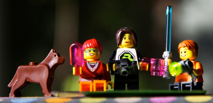 We 3 in Lego