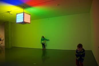changing neon lights