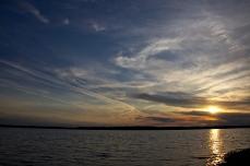 nice friendly sunset