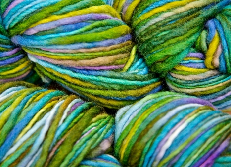 wavy yarn