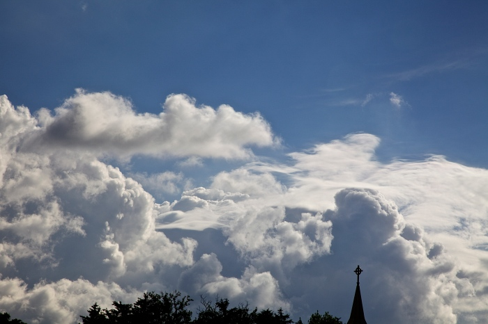 gorgeous clouds on a Sunday