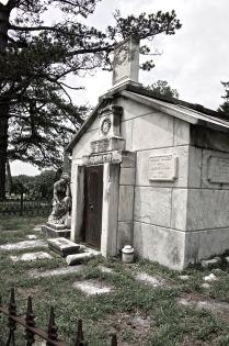 mausoleum for family Baker