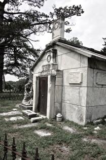 mausoleum for family Baker