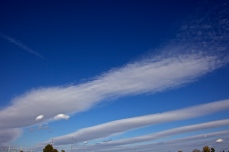Roll clouds with Electric LInes