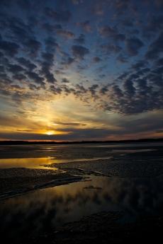 Alum Creek Sunset