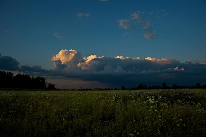 cumulus evening