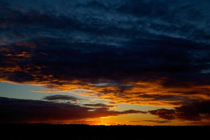 Alum Creek Sunset 9/21/14